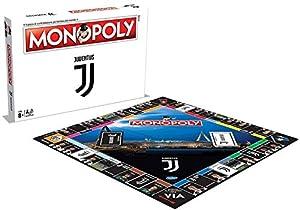 Winning Moves Juego de Mesa - Monopoly Squadre de fútbol - Juventus edición de colección Color Blanco 35262