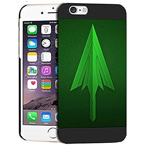 Green Arrow Logo Durevole Iphone 6 / 6S (4.7 Inch) Case Cover For Uomini Iphone 6 (4.7 Inch) Green Arrow Logo - [ DC Comics ] Cabina telefonica CustodiaCase, Green Arrow Logo Durevole Custodia Protettiva