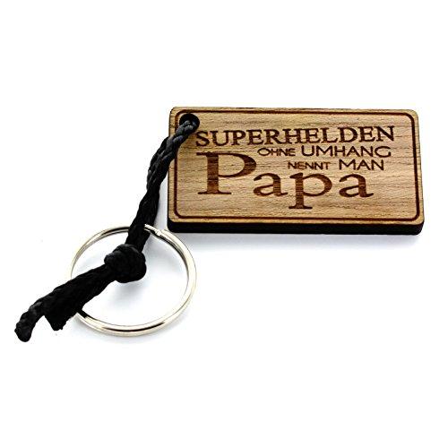 Preisvergleich Produktbild Lieblingsmensch Schlüsselanhänger aus Holz Modell: Superhelden
