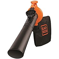 Black&Decker GW2500-QS Soffiatore/Aspiratore/Trituratore 2500 W, Multicolore