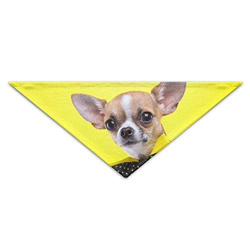 Hipiyoled Soft,Cotton Polyester,Wearing A Bow Tie Dog Turban Pet Bandana Baby Puppy Triangle Scarf Bib (Bulk Bow Ties)