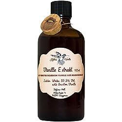 Vanille-Extrakt aus echter Bourbon-Vanille | Ohne Zuckerzusatz | 100 % natürliche Zutaten | 100 ml