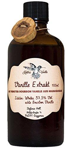 echter Bourbon-Vanille | Ohne Zuckerzusatz | 100 % natürliche Zutaten | 100 ml (Vanille-wodka Rezepte)