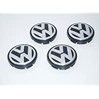 CPLL VW Volkswagen Polo Bora - Juego de 4 tapacubos para ruedas (56 mm, 1J0601171)