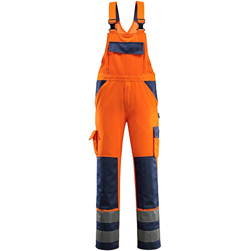 Mascot 07169-860-141 Latzhose Barras Größe 52 marine orange