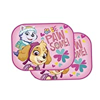 Theonoi 2 x Car Sun Shade Selectable Minnie Mouse Frozen Princess Sofia Curtains Side Window Sun Visor UV Protection Paw