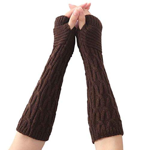vovotrade-gants-femmes-mode-tricotee-arm-sleeve-fingerless-hiver-doux-chaud-mitten-cafe