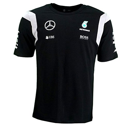 mercedes-amg-f1-replica-team-pilote-puma-t-shirt-noir-officiel-2016