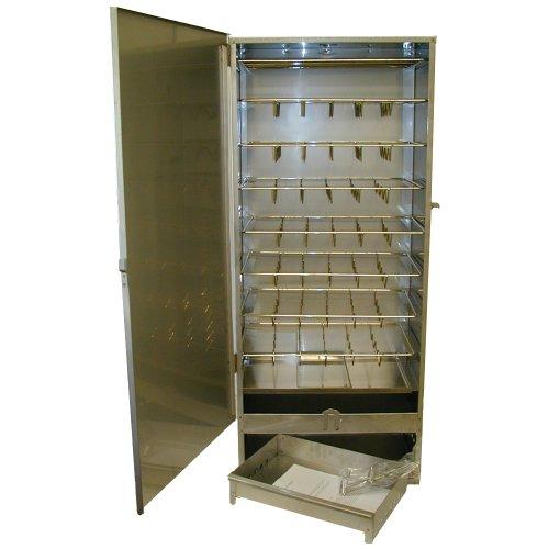 XXL Räucherofen Räuchertonne Räucherschrank 1,10m Smoker + viel Zubehör zum räuchern