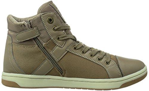 Geox JR CREAMY Mädchen Hohe Sneakers Beige (TAUPEC6029)