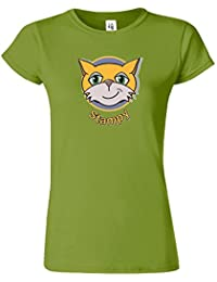 STAMPY Womens Inspired Pc Gamer T-Shirt Chat Visage Nez