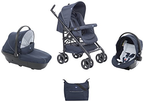 Chicco 00079366640000 Trio Sprint With Kit Car, Blue Passion