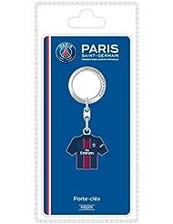 PSG Porte-Clefs Domicile 16/17 Blister Metal Multicolore 8,5 x 18 x 2,5 cm