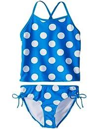 Kanu Surf Big Girl's Beachball Tankini Swimsuit