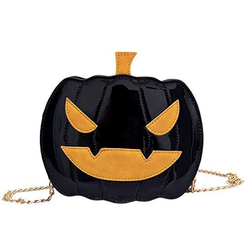 LJSHU Bolso Bandolera Mujer Calabaza Halloween Cabeza