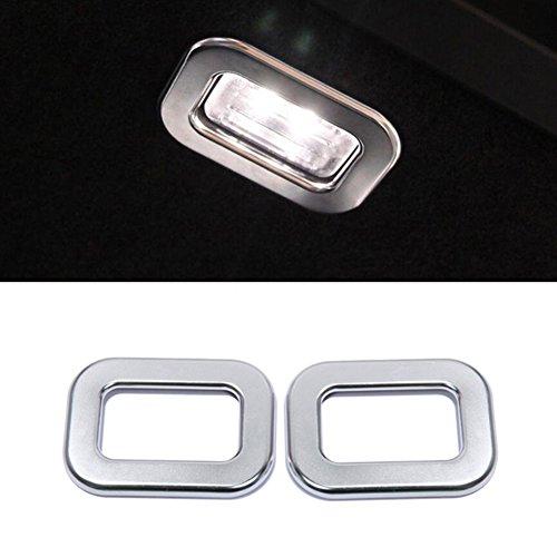 Auto-Styling ABS matt Chrom Rücklicht Rahmen Abdeckung Zubehör -