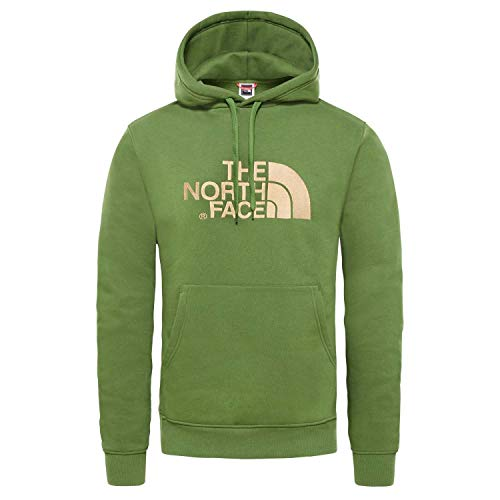 The North Face Drew Peak Felpa con Cappuccio Uomo Verde L