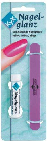 Kyx Nagelglanz 3,4 g mit Poliseur, 2er Pack (2 x 3.4 g) -