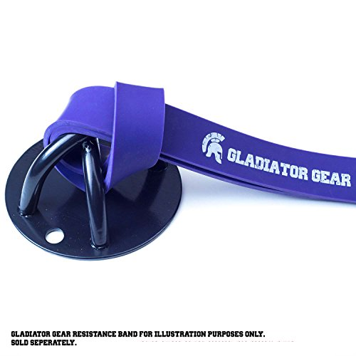 Gladiator-Gear-Suspension-Trainer-Mount-with-Installation-E-Guide-Anchor-to-Wall-or-Ceiling-Strong-X-Mount-Design-Use-With-Suspension-Trainers-Gym-Rings-Resistance-Bands-Easy-Fit