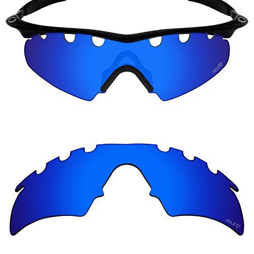 Mryok Ersatzgläser für Oakley M Frame Hybrid Vented - Options, Blau (Xeld Polarized - Desire Blue), Einheitsgröße