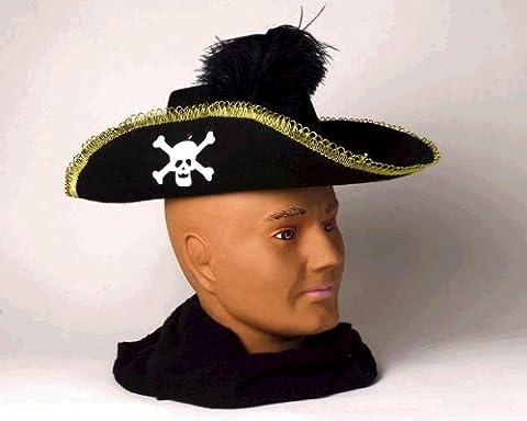 Pirate Adult Hat - Skull Pirate Adult Costume Hat
