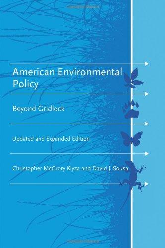 american-environmental-policy-beyond-gridlock-american-and-comparative-environmental-policy-series