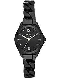 DKNY Damen-Armbanduhr Analog Quarz Edelstahl NY2426