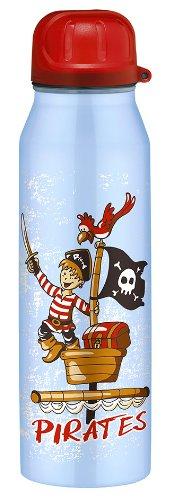 Alfi 5337643050 Isolier-Trinkflasche edelstahl (0,5 Liter) pirates blau Kinder-dienstleistungen