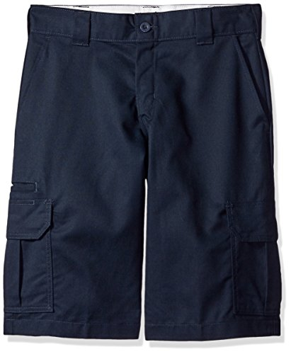 Dickies Men's 13 Relaxed Fit Stretch Twill Cargo Short Big, Dark Navy, 48 (Fit Shorts Dickie Relaxed)