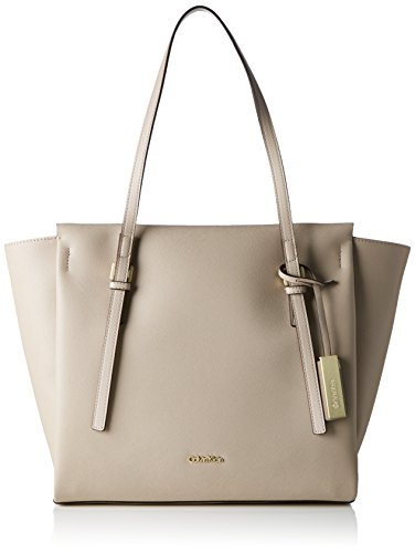 Calvin Klein Jeans - M4rissa Large Tote, Borsa shopper Donna Beige (Mushroom)