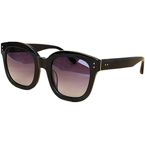 Yiph-Sunglass Sonnenbrillen Mode Sonnenbrillen der Frauen übergroße Katzenaugen-Art kühlen Acetatfaser-Rahmen polarisierte TAC-Linse UV-Schutz, der Fischen-Strand-Sonnenbrille fährt