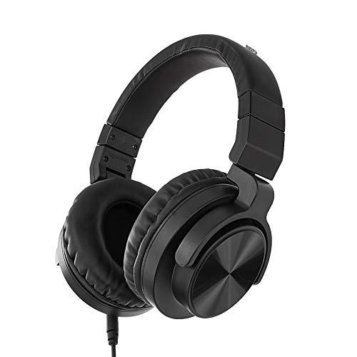 AmazonBasics - Studio-Monitor-Kopfhörer, Over-Ear - Schwarz