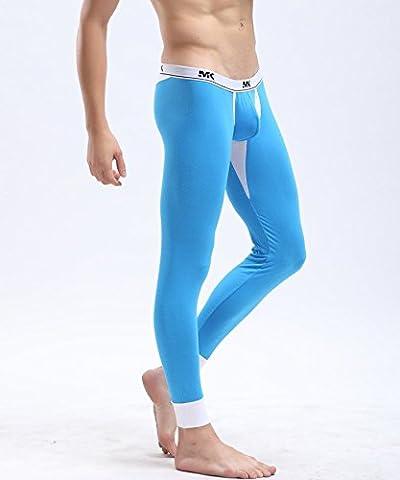 GS~LY Comfortable and unique lingerie Men's underwear long Johns thin