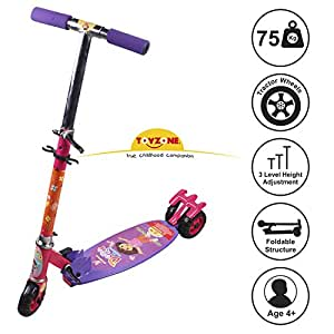 Toyzone Minnie Mouse 3 Wheel Scooter for Kids Ages 4+