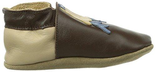 Bobux  460743, Chaussures premiers pas pour bébé (fille) Marron - Marron (chocolat)