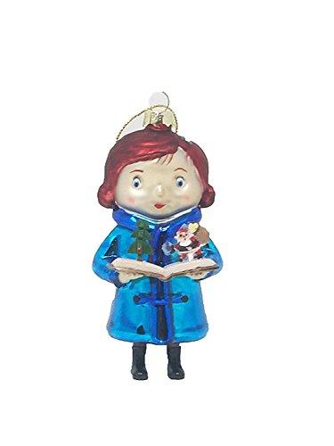 YES Macy 'S JA Virginia 2016Glas Weihnachten Ornament, Virginia Halt Pop-up Santa Buch
