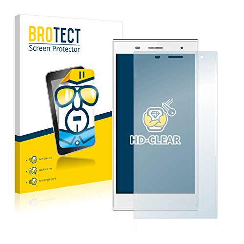 BROTECT Schutzfolie kompatibel mit Hisense Infinity H3 HS-U988 [2er Pack] klare Bildschirmschutz-Folie