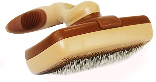 Premium Pet Slicker Brush By Petter – Self Cleaning Fur & Coat Care Brush Suitable For Dogs & Cats