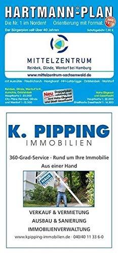 HARTMANN-PLAN Reinbek, Glinde, Wentorf bei Hamburg (Mittelzentrum), 1:20.000 Stadtplan
