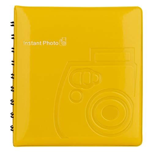Fujifilm Photo (Fujifilm 70100118319 Instax Mini Fotoalbum gelb)