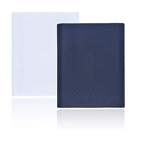 Rancco® Samsung T5 / T3 SSD Case, 2 pces en silicone antidérapante pour Samsung T3 / T5 Disque dur SSD externe portable