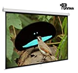 Punnkk I6 Insta Lock Projector Screen Size -6Ft(Width) X 4Ft(Height), 84 Inches 4:03