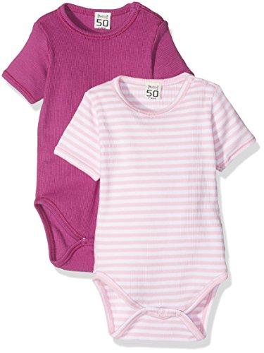 Care Baby - Mädchen Body im 2er Pack, Violett (WildAster 626), 3 Jahre (Herstellergröße: 98)