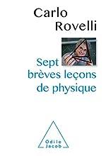 Sept brèves leçons de physique de Carlo Rovelli