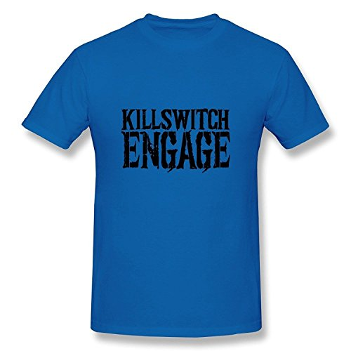 Men's Killswitch Engage Logo T-Shirt- RoyalBlue