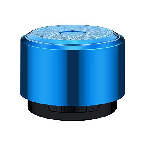 Lazzboy Altavoz Bluetooth Mini Altavoz USB Led Light Inalámbrico Portátil de Música...