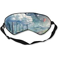 Sleep Eye Mask Hot Air Balloon Sky Lightweight Soft Blindfold Adjustable Head Strap Eyeshade Travel Eyepatch E14 preisvergleich bei billige-tabletten.eu