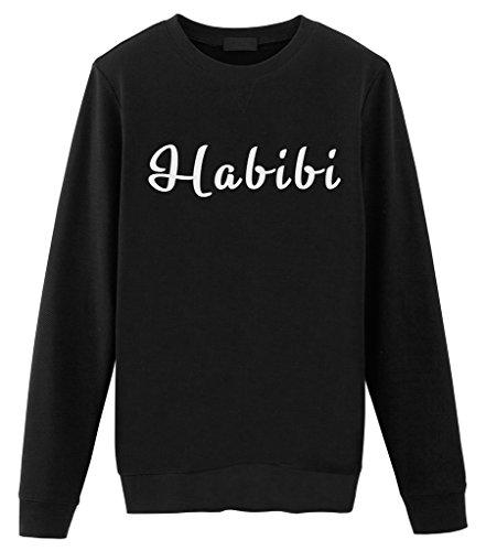 Fellow Friends - Habibi Mens Sweater Small Black