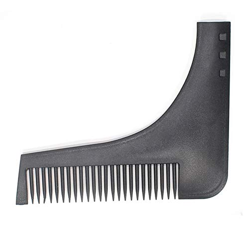 YOUNICER Männer Bart Shaping Tool Vorlage Spitzbart Bart Shaper Styling Kamm Gesichts Haarpflege-Tool