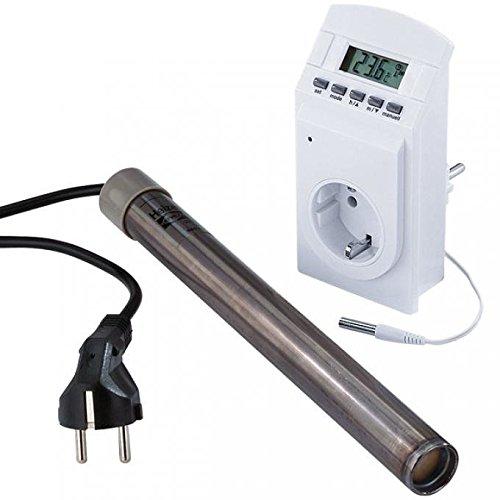 Warmwasserheizstab 230 V / 250 W Automatischer Thermostat ca. 37-40°C